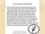 cross and crown seal