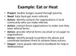 example eat or heat