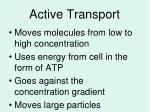 active transport1