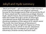 jekyll and hyde summary