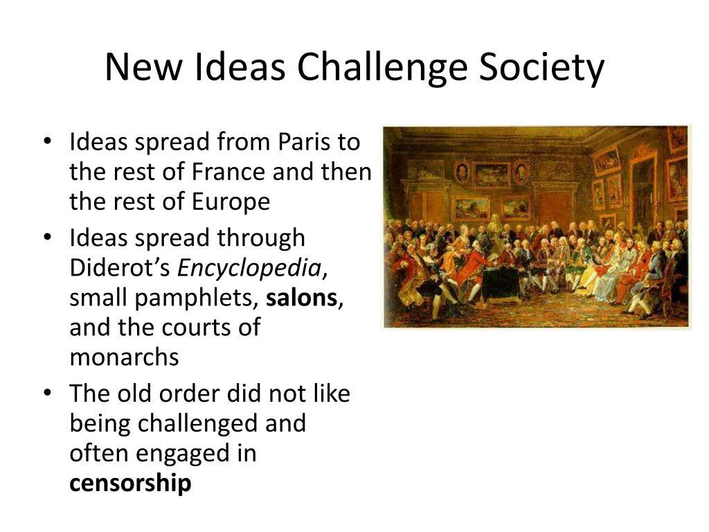 PPT - Enlightenment Ideas Spread PowerPoint Presentation ...