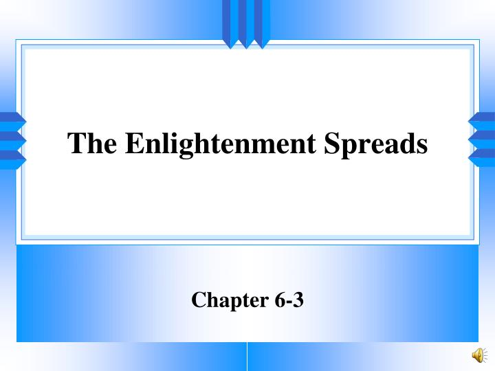 the enlightenment spreads n.