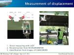 measurement of displacement