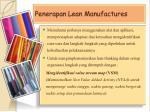 penerapan lean manufactures