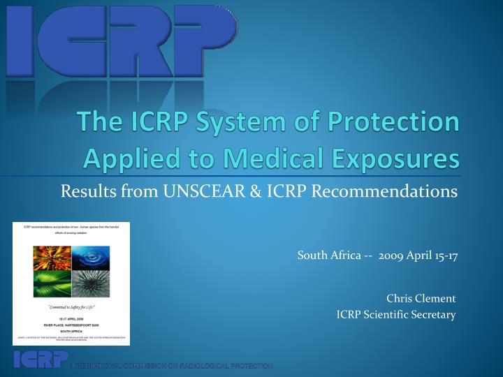 the icrp system of protection applied to medical exposures n.
