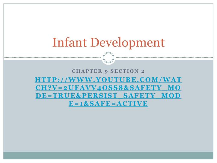 infant development n.