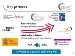 key partners