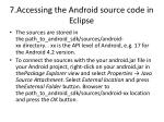 7 accessing the android source code in eclipse2