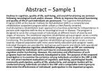 abstract sample 1