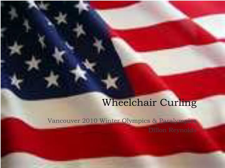 wheelchair curling n.