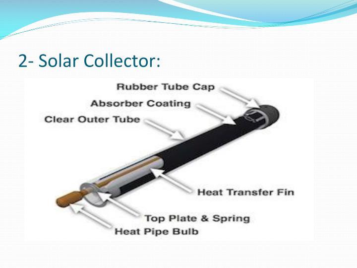 2- Solar Collector: