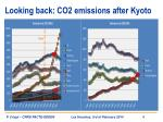 looking back co2 emissions after kyoto