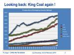 looking back king coal again