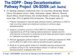 the ddpp deep decarbonisation pathway project un sdsn jeff sachs