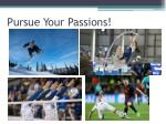 pursue your passions1