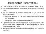 polarimetric observations