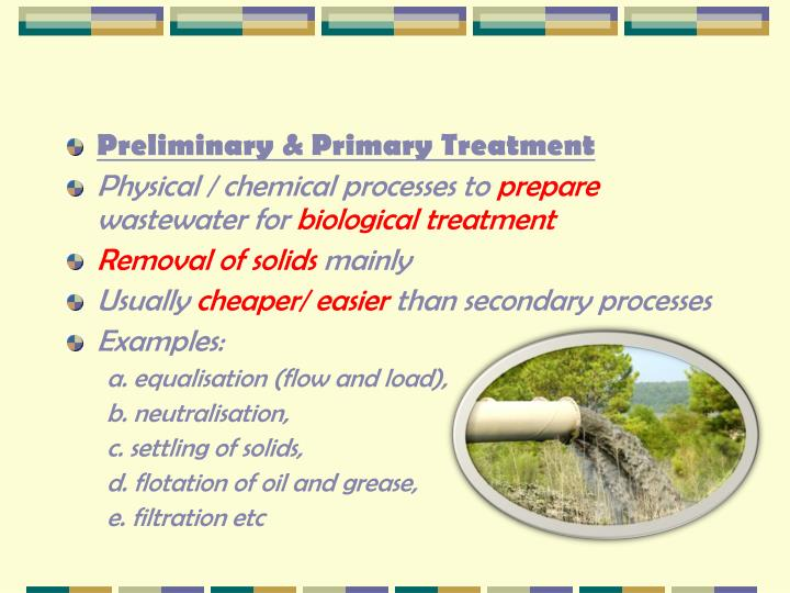 2.1 Overview of Treatment Processes