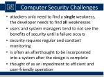 computer security challenges1