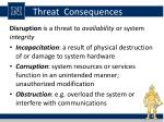threat consequences3