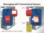 messaging with transactional queues