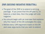 2nr second negative rebuttal