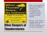 other dangers of thunderstorms
