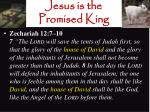 jesus is the promised king10