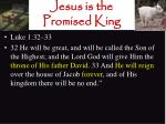 jesus is the promised king14