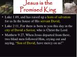 jesus is the promised king15