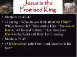 jesus is the promised king18