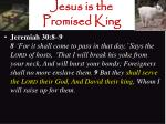 jesus is the promised king4