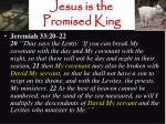 jesus is the promised king6