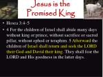 jesus is the promised king8