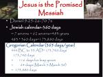 jesus is the promised messiah1