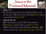 jesus is the promised messiah4