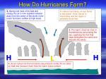how do hurricanes form