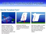 how do tornadoes form