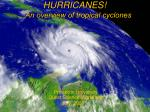 hurricanes an overview of tropical cyclones