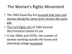 the women s rights movement2