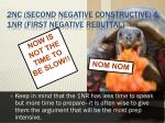 2nc second negative constructive 1nr first negative rebuttal4