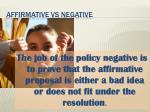 affirmative vs negative2