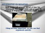 affirmative vs negative7