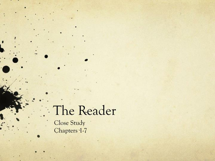 the reader n.