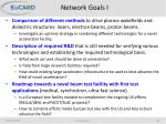 network goals i