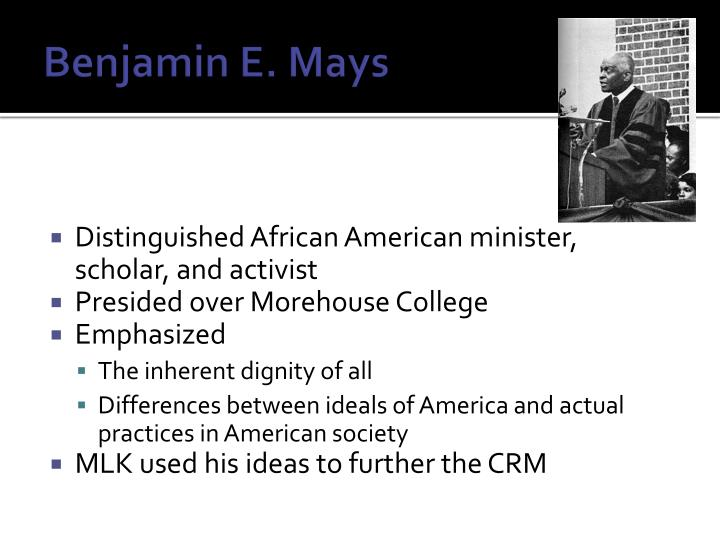 Benjamin e mays