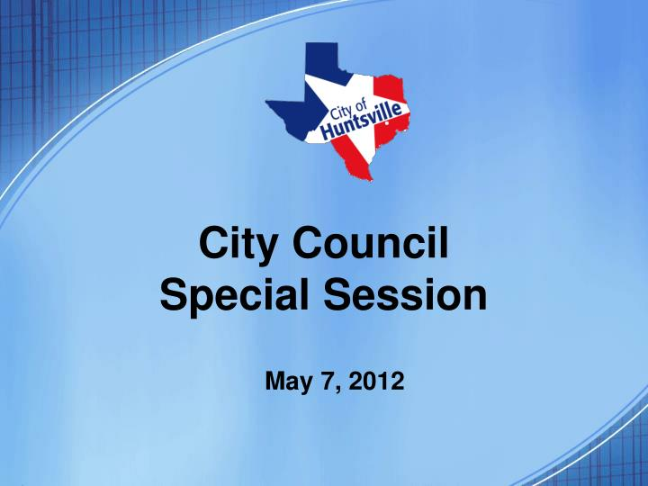 city council special session n.