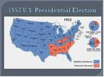 1952 u s presidential election