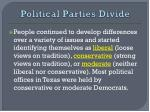 political parties divide1