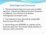 advantages and conclusion1