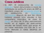 casos juridicos